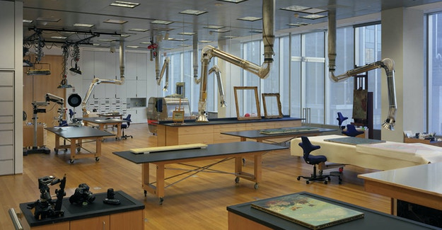 Featured Image for:MoMA Art Conservation Labs - Richlite Table & Counter Tops Case Study