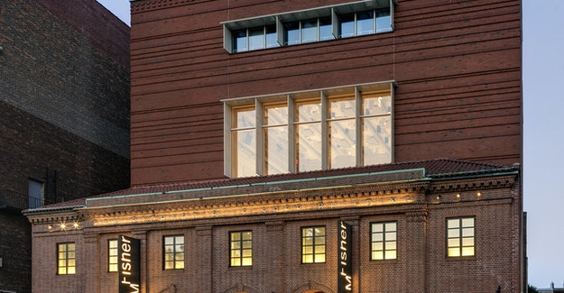 Featured Image for:Brooklyn Academy of Music Fisher Building - Richlite Exterior Signage Case Study