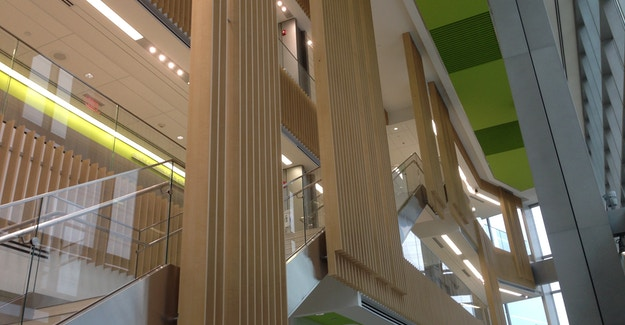Featured Image for:SUNY Upstate Medical - Richlite Atrium Feature Case Study