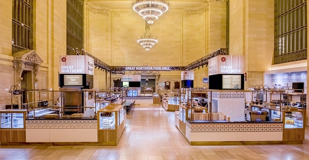 Featured Image for:Great Northern Food Hall Grand Central Station - Richlite Countertops Case Study