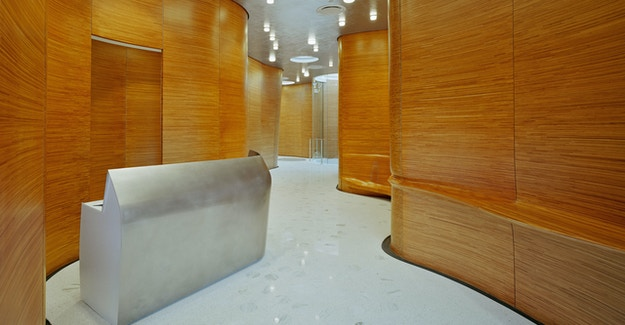 Featured Image for:One Jackson Square NYC - Bamboo Plywood Custom Millwork Case Study