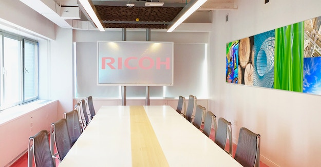 Featured Image for:Ricoh Customer Experience Center - Tekstur Acoustic Ceiling Panels Case Study